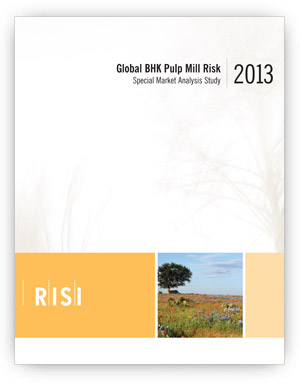 Global BHK Pulp Mill Risk